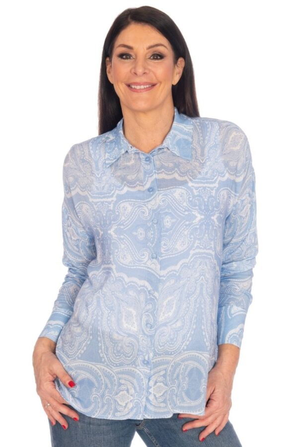 Riani Blue Blouse 705330
