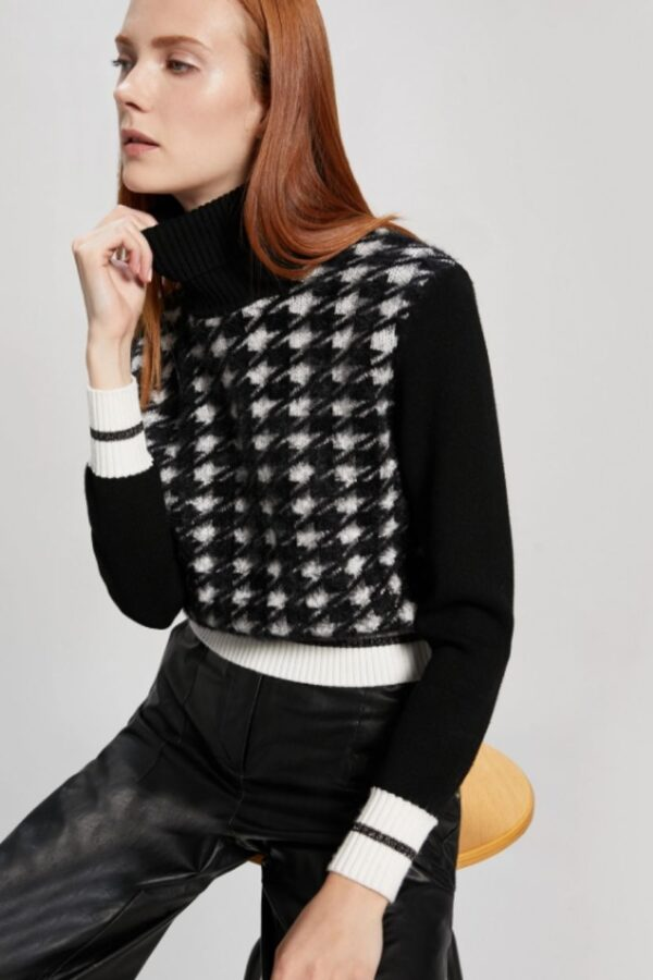 Snooty Frox Penny Black Sweater