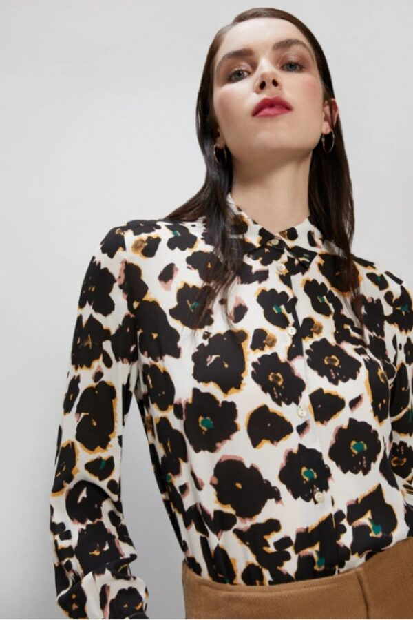 Snooty Frox Penny Black Blouse