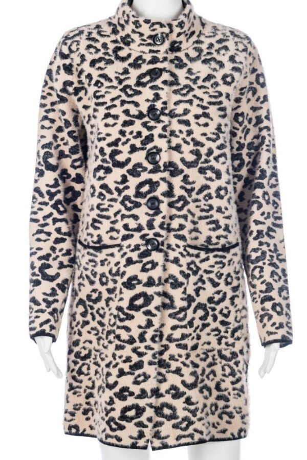 Passioni Animal Print Coat - Snooty Frox