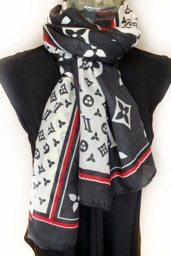 Print scarf - Snooty frox