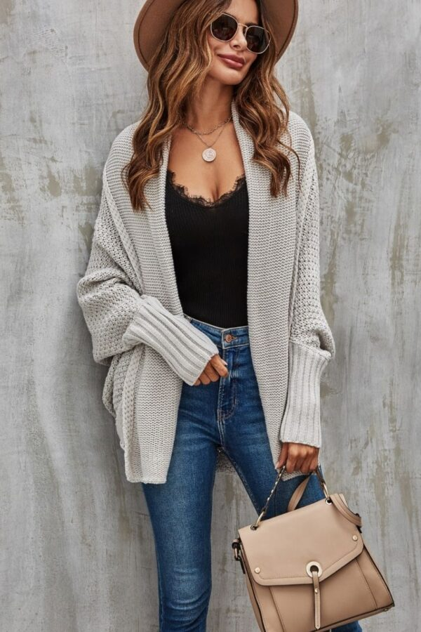oatmeal cardigan - snooty frox