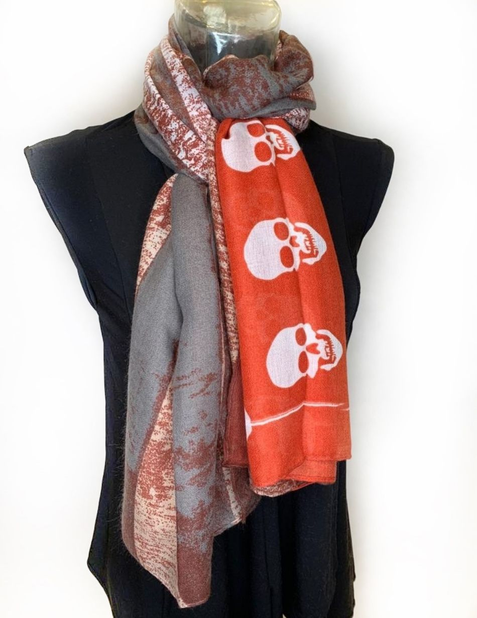Patterned Scarf - Snooty Frox