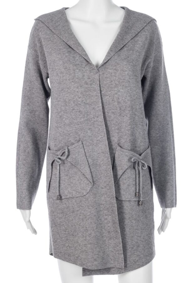 Passioni Grey Cardigan - Snooty Frox