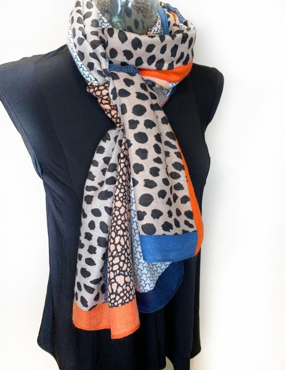 Animal Print Scarf - Snooty Frox