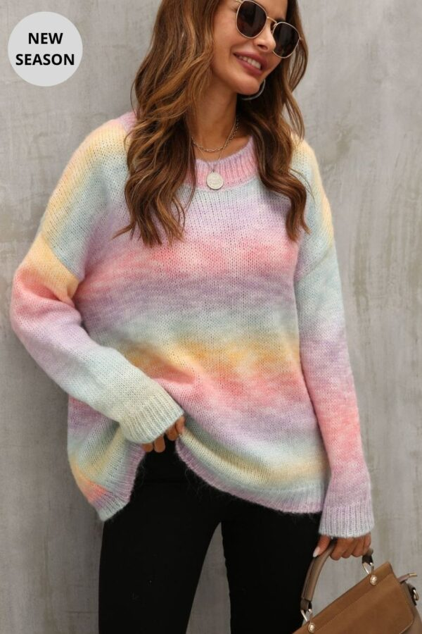 Rainbow Sweater - Snooty Frox