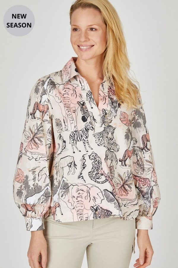 Eve In Paradise Blouse - Snooty Frox