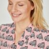 Eve In Paradise Print Blouse - Snooty Frox