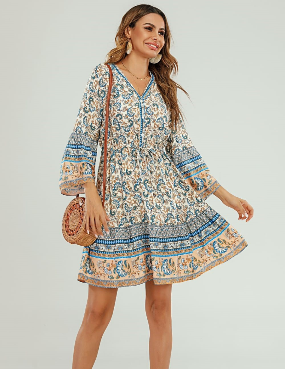 Soft Blue Dress - Snooty Frox
