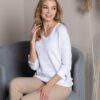 Passioni White Floral Sweater - Snooty Frox