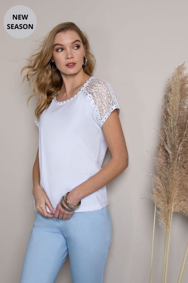 Passioni White Top - Snooty Frox