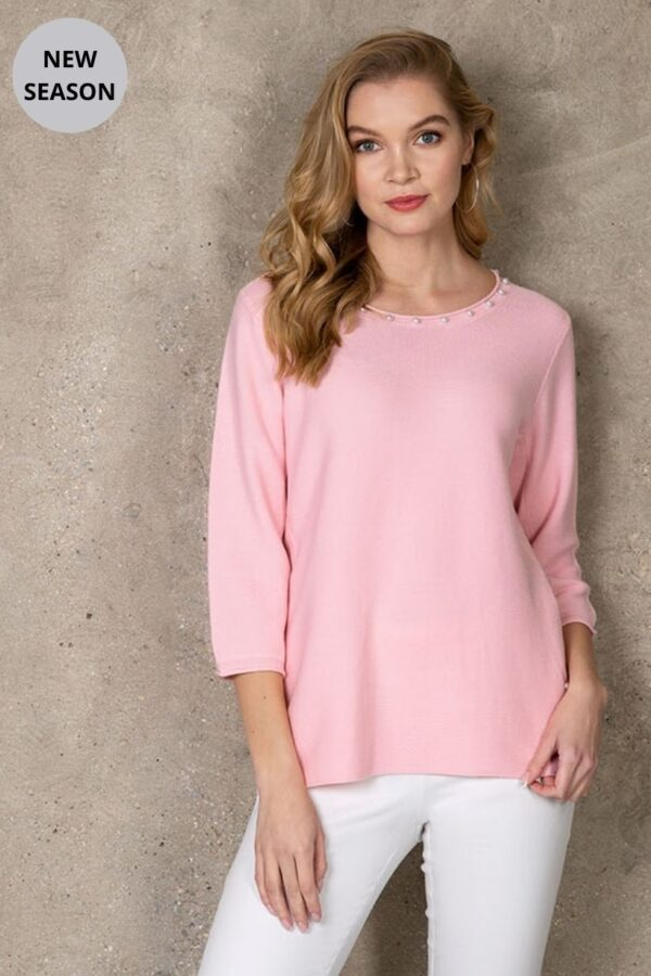 Passioni Rose Sweater - Snooty Frox