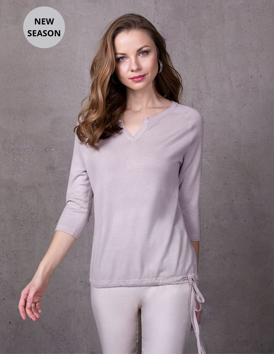 Passioni Taupe Top - Snooty Frox