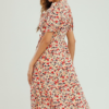 Cherry floral Dress - Snooty Frox