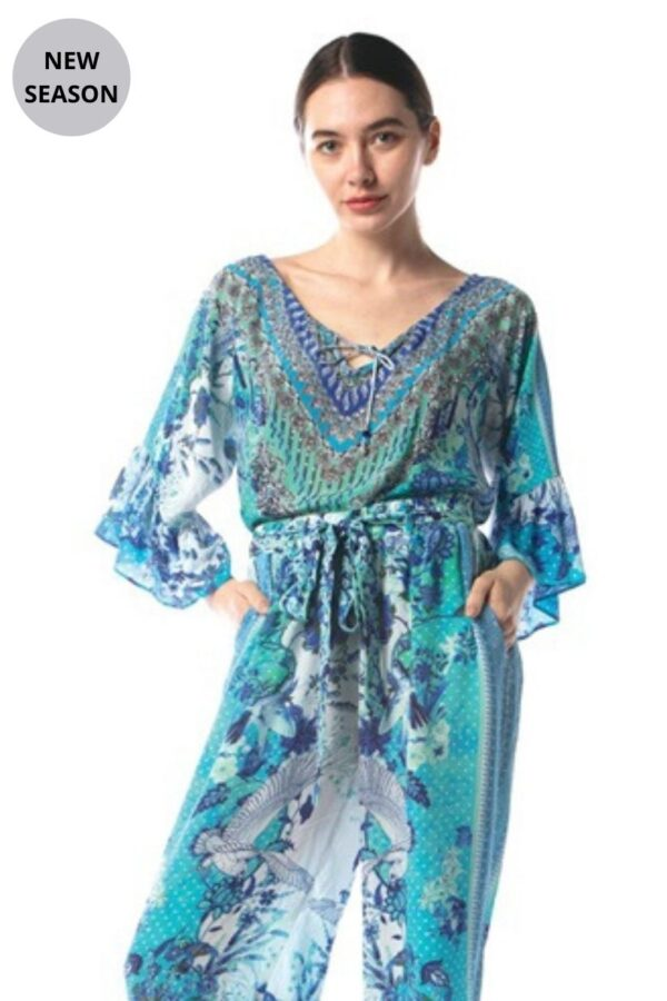 Inoa Silk Boho Top - Snooty Frox
