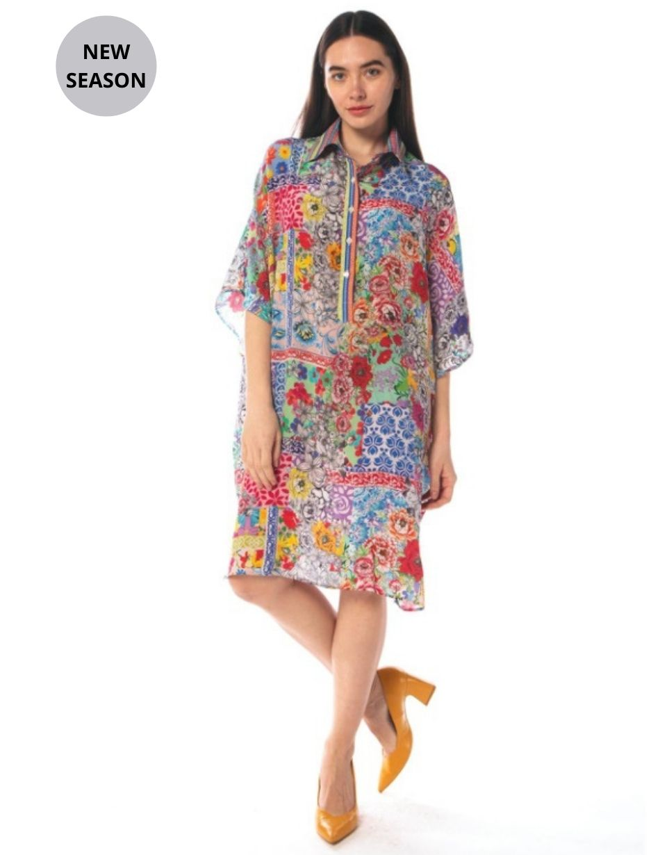 Inoa Martinique Shirt Dress - Snooty Frox