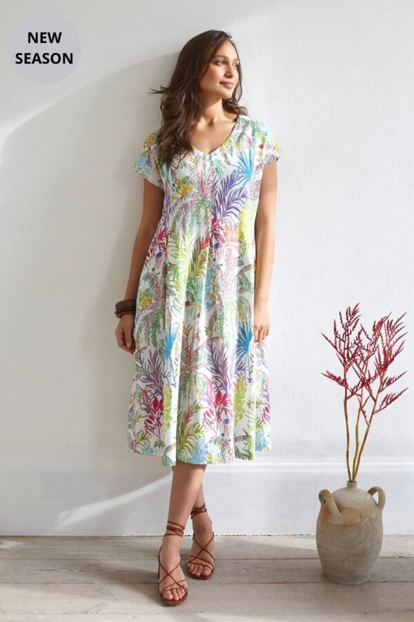 Sahara Print Dress - Snooty Frox