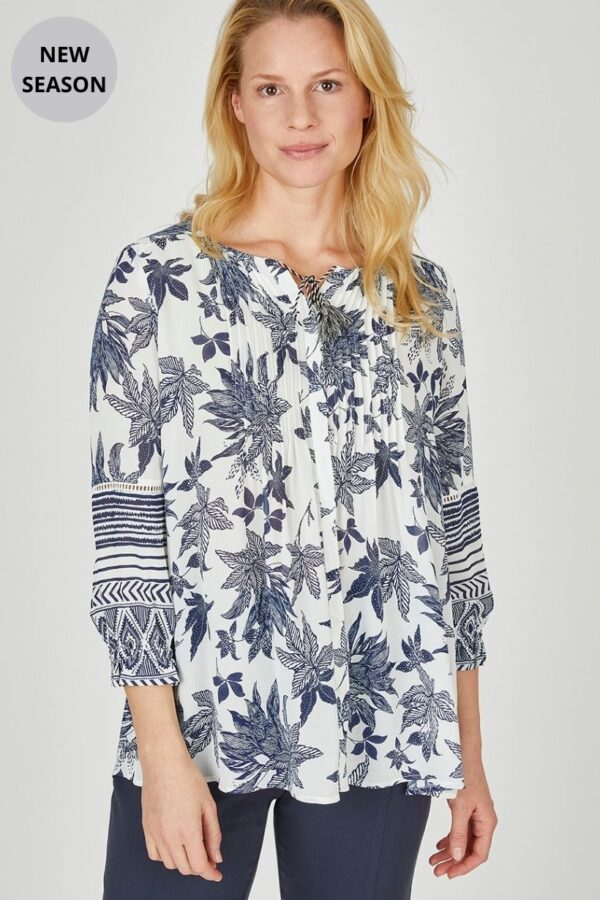 Eve In Paradise Nadine Blouse - Snooty Frox