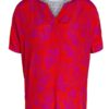 Oui Red Print Top - Snooty Frox