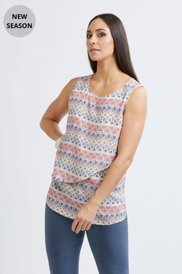 Foil Boho Top - Snooty Frox