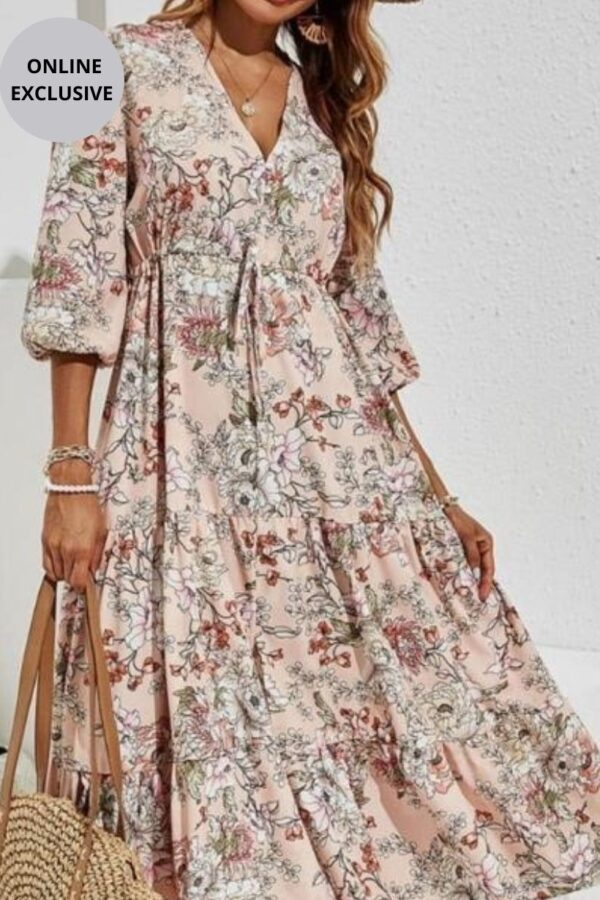 Floral Dress - Snooty Frox