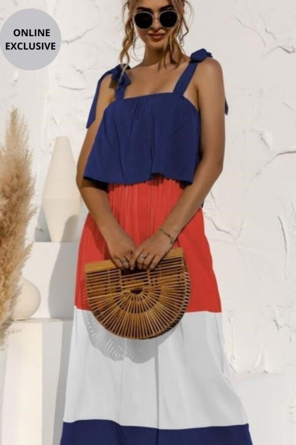 Colour Block Dress - Snooty Frox