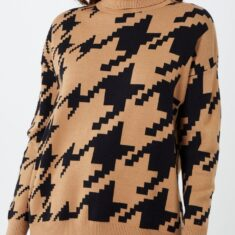 Snooty Frox Houndstooth Sweater